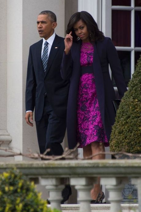 Michelle Obama - Nguoi dan ba quyen luc voi phong cach thoi trang sieu sanh dieu - Anh 13
