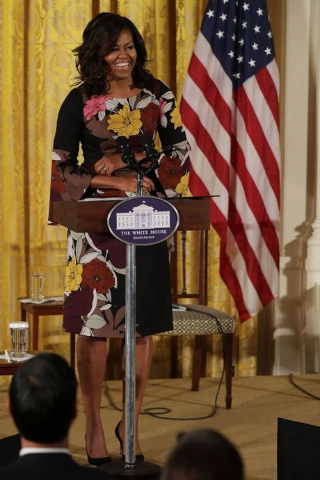 Michelle Obama - Nguoi dan ba quyen luc voi phong cach thoi trang sieu sanh dieu - Anh 15