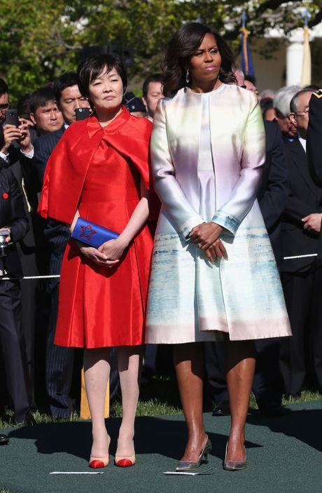 Michelle Obama - Nguoi dan ba quyen luc voi phong cach thoi trang sieu sanh dieu - Anh 2