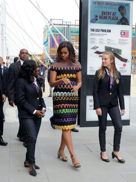 Michelle Obama - Nguoi dan ba quyen luc voi phong cach thoi trang sieu sanh dieu - Anh 6