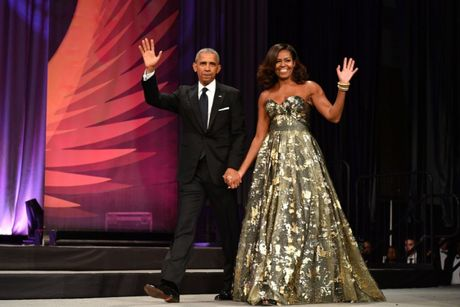 Michelle Obama - Nguoi dan ba quyen luc voi phong cach thoi trang sieu sanh dieu - Anh 9