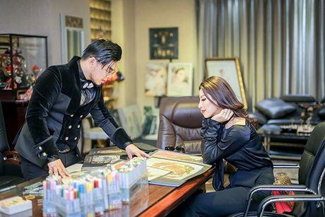 Sieu mau Kha Trang tu tin khoe eo thon, chan dai 1m19 truoc khi len duong thi Hoa hau Sieu quoc gia - Anh 5