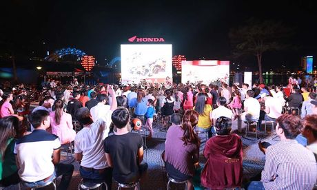 Honda Viet Nam thang hoa cung Marc Marquez tai MotoGP 2016 - Anh 1