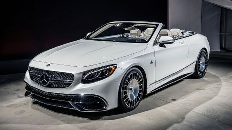 300 xe Maybach S650 Cabriolet doc quyen chi danh cho khach VIP - Anh 1