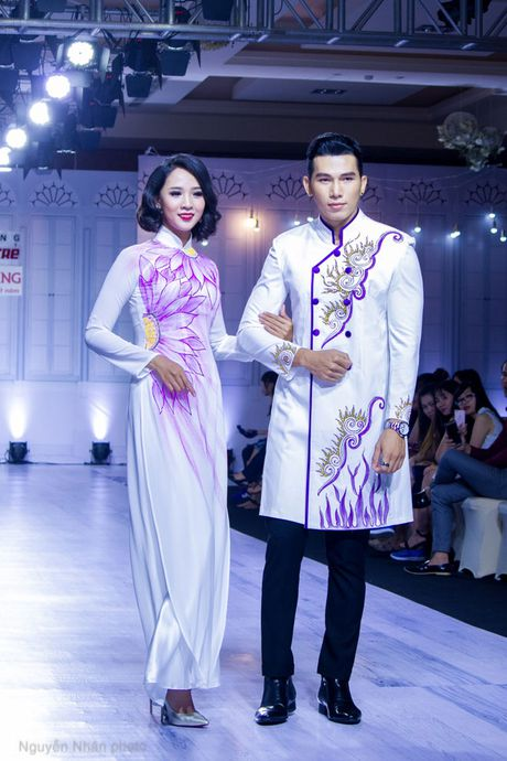 A vuong Ngoc Tinh banh bao giua dan my nhan, sieu mau - Anh 7