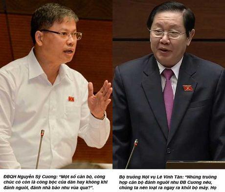 Bo truong Noi vu: 'Loai ngay can bo danh dan!' - Anh 1