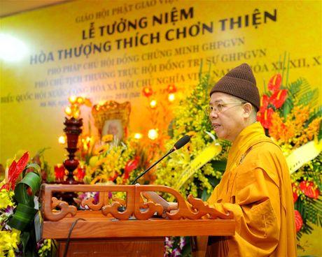 Tuong niem Pho Phap chu GHPG Viet Nam Thich Chon Thien - Anh 9