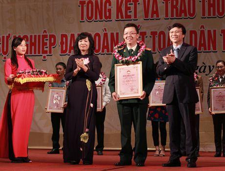 Le trao giai Bao chi 'Vi su nghiep dai doan ket toan dan toc' lan thu 12 - Anh 10