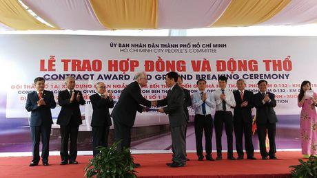 Khoi cong tuyen metro ngam va nha ga Ben Thanh - Anh 1