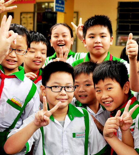 Cau be lop 3 gioi tieng Anh khien thay co bat ngo - Anh 8
