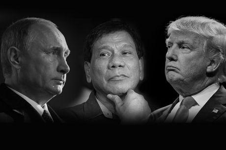 Tong thong Duterte muon 'ket ban' voi ca ong Putin va Trump - Anh 1