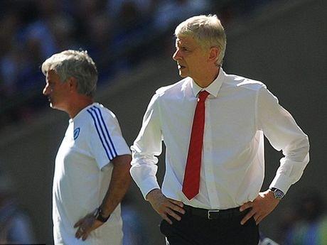 Wenger: 'Toi se bat tay Mourinho. Co phai tran nao toi cung thua ong ta dau' - Anh 1