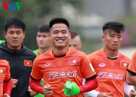 Doi hinh 'khung' xu Nghe cua DT Viet Nam duoi thoi HLV Huu Thang - Anh 2
