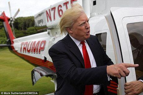 Trump hua doi kieu toc tru danh khi tro thanh tong thong - Anh 2