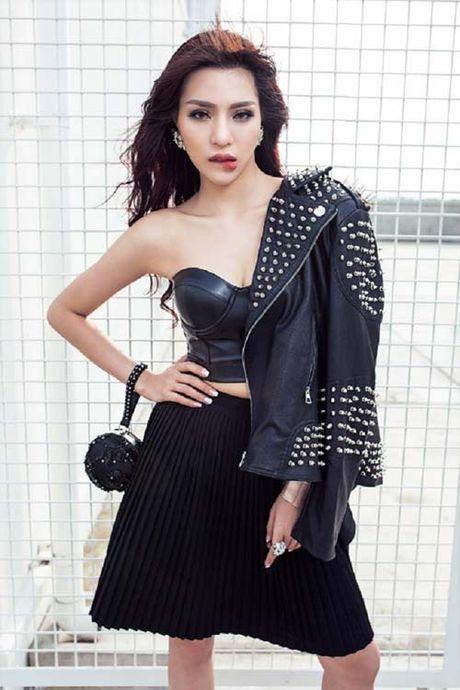 Ngam ve dep boc lua cua nguoi dep chan sieu dai Kha Trang - Anh 7