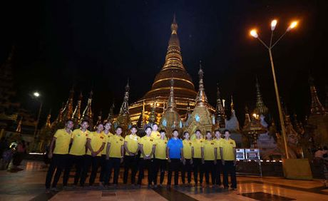 DT Viet Nam di chua cau may truoc ngay dau Myanmar - Anh 1