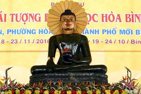 Tuong Phat ngoc lon nhat the gioi den tinh Binh Duong - Anh 1