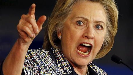 Bao My: Ba Clinton noi khung, dap pha trong dem bau cu - Anh 1