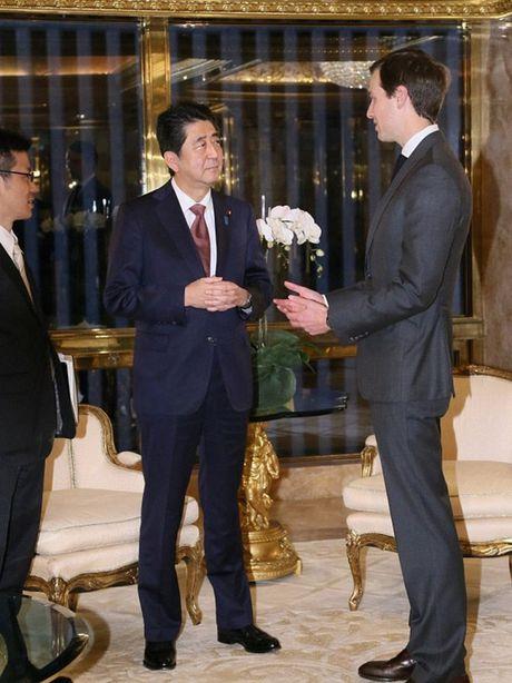 Tong thong dac cu Donald Trump gap Thu tuong Nhat Abe - Anh 7