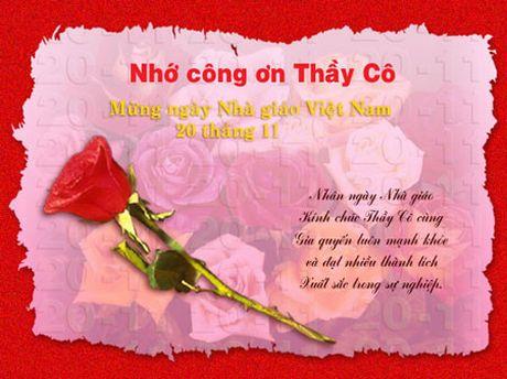 Nhung bai tho hay va y nghia mung ngay Nha giao Viet Nam 20/11 - Anh 4