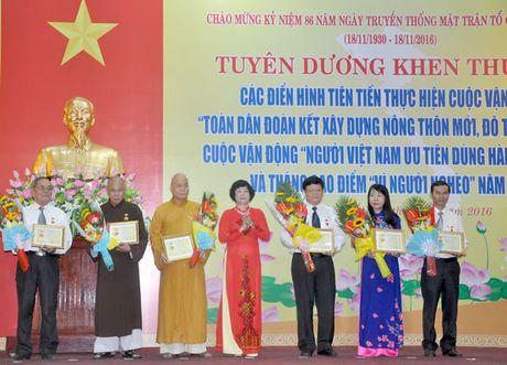 Ky niem 86 nam Ngay truyen thong MTTQVN (18-11-1930 - 18-11-2016):Xung dang la co so chinh tri tin cay cua Dang, cho dua vung chac cua chinh quyen - Anh 1