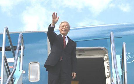 Tong Bi thu Nguyen Phu Trong se tham huu nghi chinh thuc Lao - Anh 1