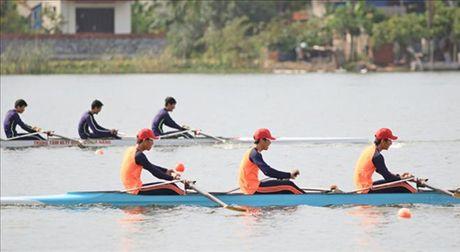 Ha Noi tam dan dau o Giai Rowing vo dich quoc gia nam 2016 - Anh 1