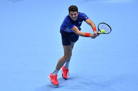 Raonic theo chan Djokovic vao ban ket ATP World Tour Finals - Anh 1