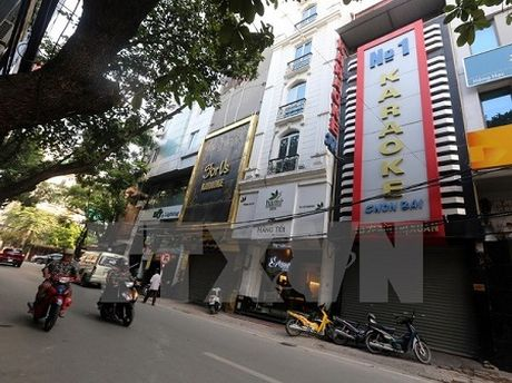 Kien Giang: Tong kiem tra cong tac PCCC tai quan karaoke, vu truong - Anh 1