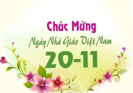 So GD&DT TP.HCM chi nhan thiep dien tu chuc mung ngay 20/11 - Anh 1