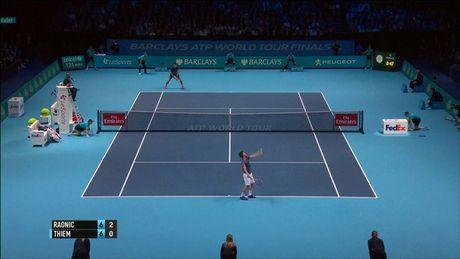 Raonic lan dau vao ban ket, Djokovic tro lai ngoi so 1 - Anh 1