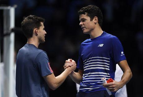 Raonic lan dau vao ban ket, Djokovic tro lai ngoi so 1 - Anh 4