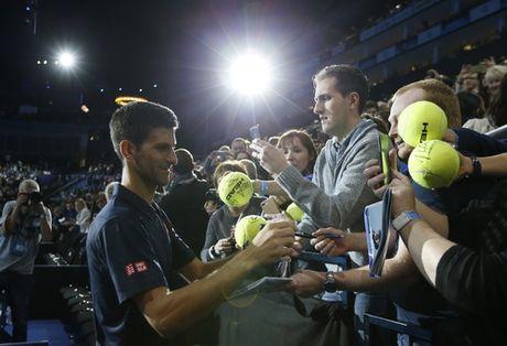 Raonic lan dau vao ban ket, Djokovic tro lai ngoi so 1 - Anh 8