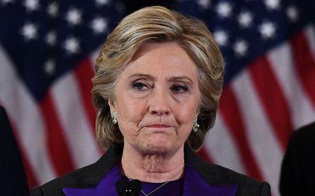 Ba Clinton 'khong muon ra khoi nha' sau that bai - Anh 1