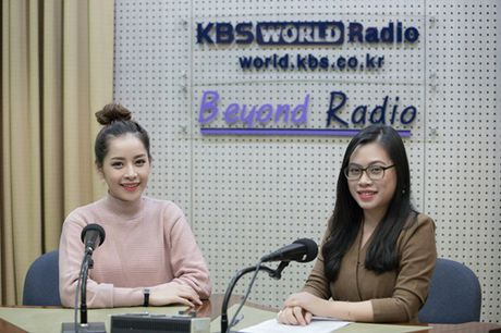 Sau Asia Artist Awards 2016, Chi Pu tra loi phong van dai KBS - Anh 1