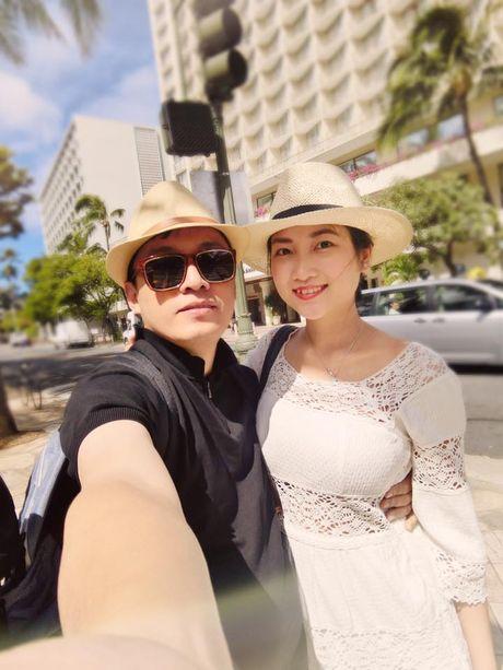 Lam Truong 'khoe' ba xa Yen Phuong mang bau con gai 6 thang - Anh 3