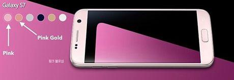 Samsung phat hanh Galaxy S7 phien ban mau hong tai Han Quoc - Anh 1