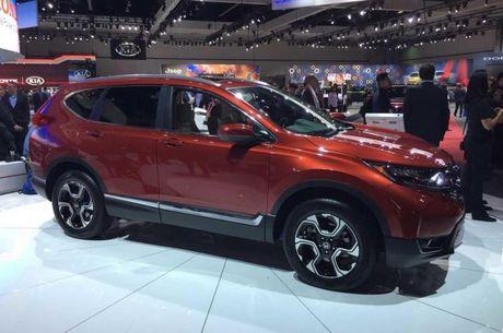 Honda CR-V 2017 chinh thuc lo dien - Anh 1
