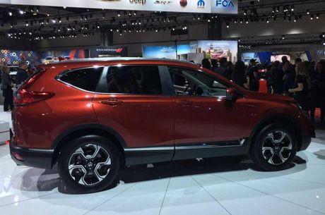 Honda CR-V 2017 chinh thuc lo dien - Anh 2
