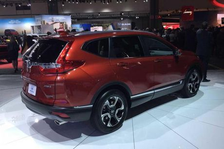 Honda CR-V 2017 chinh thuc lo dien - Anh 3