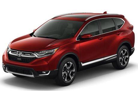 Honda CR-V 2017 chinh thuc lo dien - Anh 5