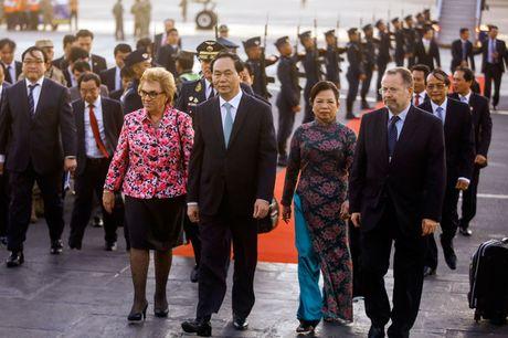 Chu tich nuoc Tran Dai Quang den Peru du Tuan le Cap cao APEC - Anh 6