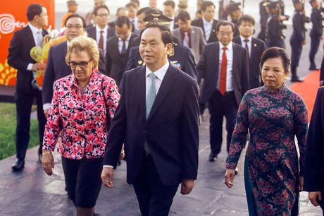 Chu tich nuoc Tran Dai Quang den Peru du Tuan le Cap cao APEC - Anh 8