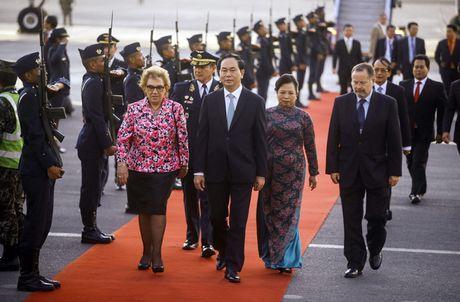 Chu tich nuoc Tran Dai Quang den Peru du Tuan le Cap cao APEC - Anh 9