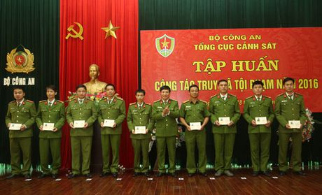 Be giang Lop tap huan cong tac truy na toi pham - Anh 1