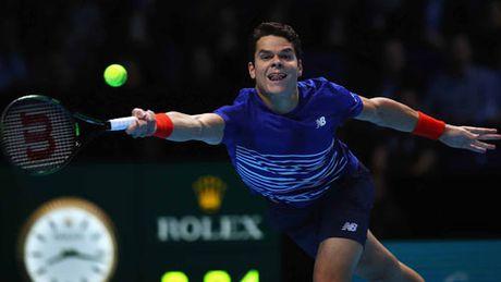 Raonic – Thiem: Ban linh gianh ve (ATP Finals) - Anh 1