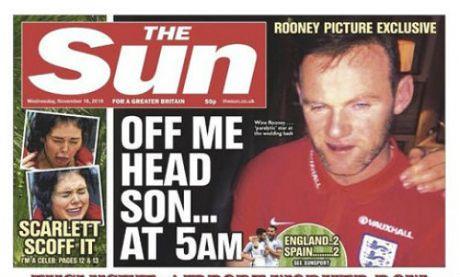 Rooney say xin: 1 phut boc dong, su nghiep boc hoi - Anh 1
