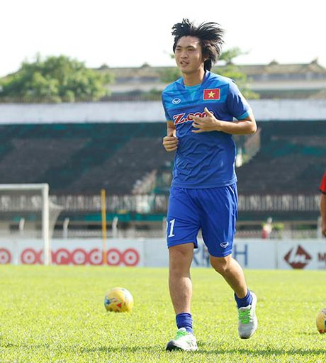 Danh sach DT Viet Nam -AFF Cup: Huu Thang loai Tuan Anh, Quang Huy - Anh 1