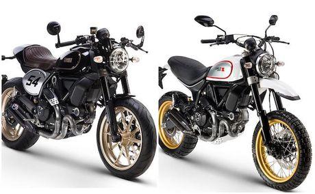 Ducati Scrambler them 2 phien ban gay tranh cai - Anh 1