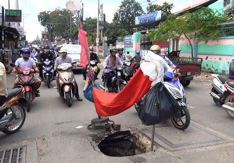 'Ho tu than' sau 2 met xuat hien gan cong truong hoc o Sai Gon - Anh 1